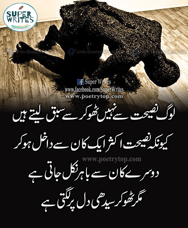 This is a Life Quote image in Urdu