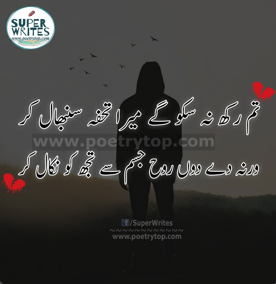 Sad Poetry Urdu 2 lines